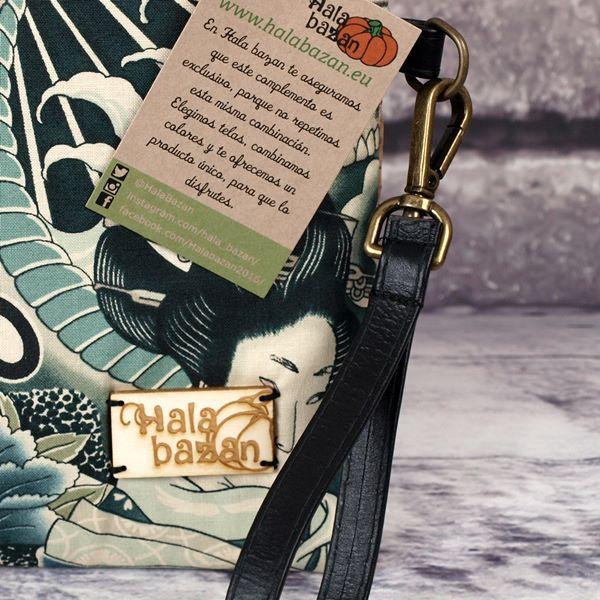 Bolso de Mano Zen detalle