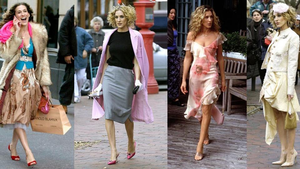 qué bolso llevas Carrie Bradshaw