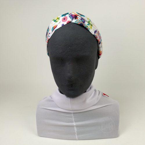 Diadema Turbante Sugar Skull